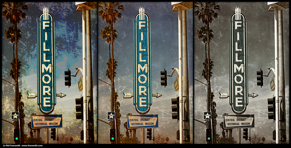 Fillmore On The 126 - PHIL FEWSMITH  |  PHOTOGRAPHER