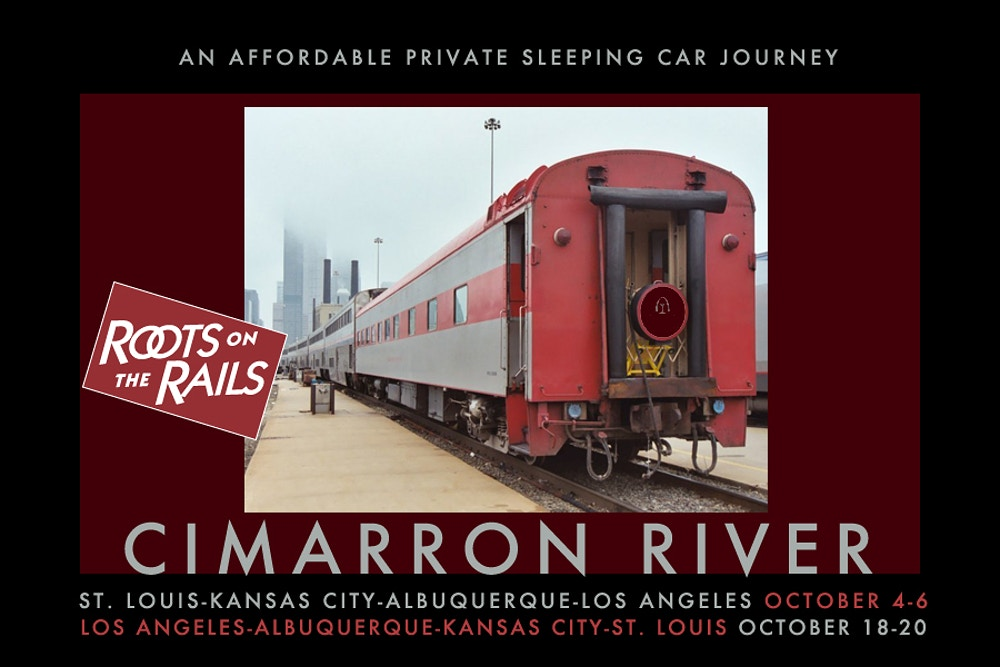 Upcoming Trips: Cimarron River Positioning Moves October 2018 - Roots on the Rails