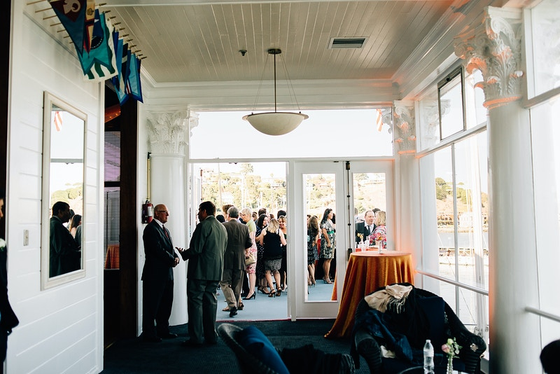 Tiburon Corinthian Yacht Club - 11th Street Studio - San Luis Obispo and Central Coast Wedding and Portrait Photography