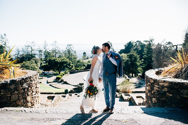 Oakland Backyard Wedding - 11th Street Studio - San Luis Obispo and Central Coast Wedding and Portrait Photography