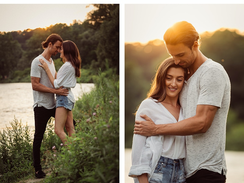 Natalie And Dominic - 135mm