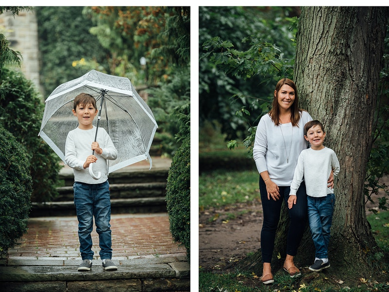 Stephanie Josh And Family - 135mm