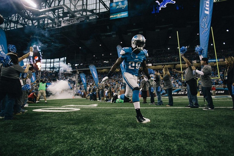 Detroit Lions V Chicago Bears - Ben Pigao: Commercial Photography