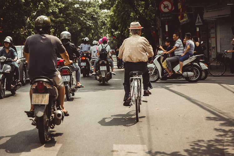 Iron Horses Of Hanoi - Ben Pigao: Commercial Photography