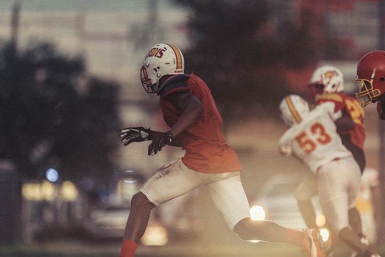 Houston Football - Ben Pigao: Commercial Photography