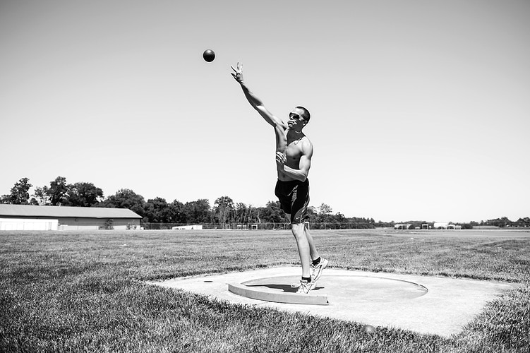 Tom Fitzsimons Ncaa Decathlete - Adam Fried Photos
