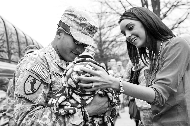 National Guard Homecoming - Adam Fried Photos