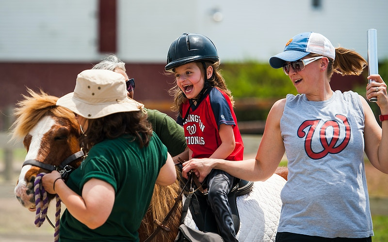 4 H Therapeutic Riding - Adam Fried Photos
