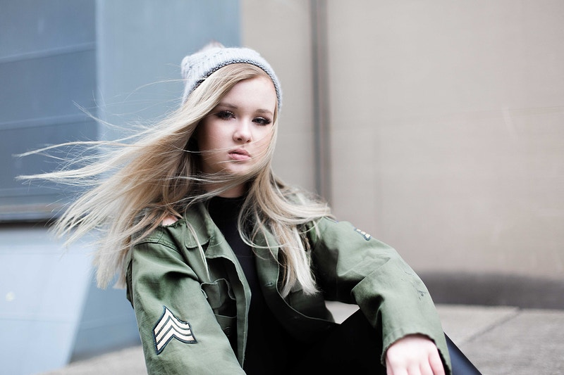 Street style + army denim - Adam Wesley: Photographer