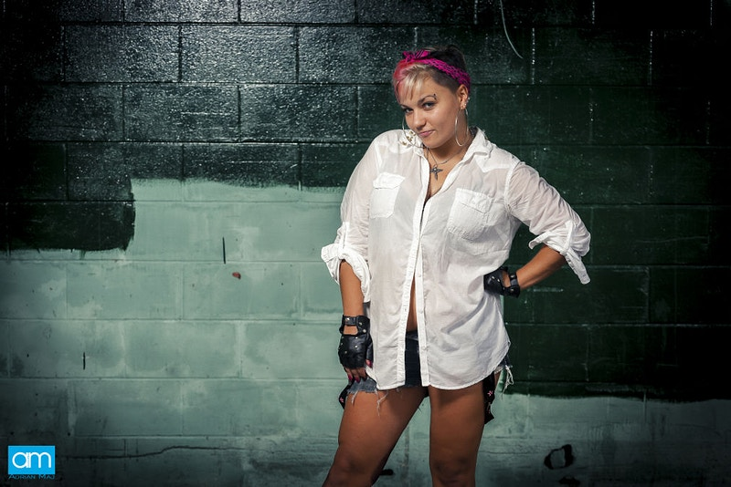 Punk Girl - Commercial Lifestyle & Location Photographer Seminole Florida
