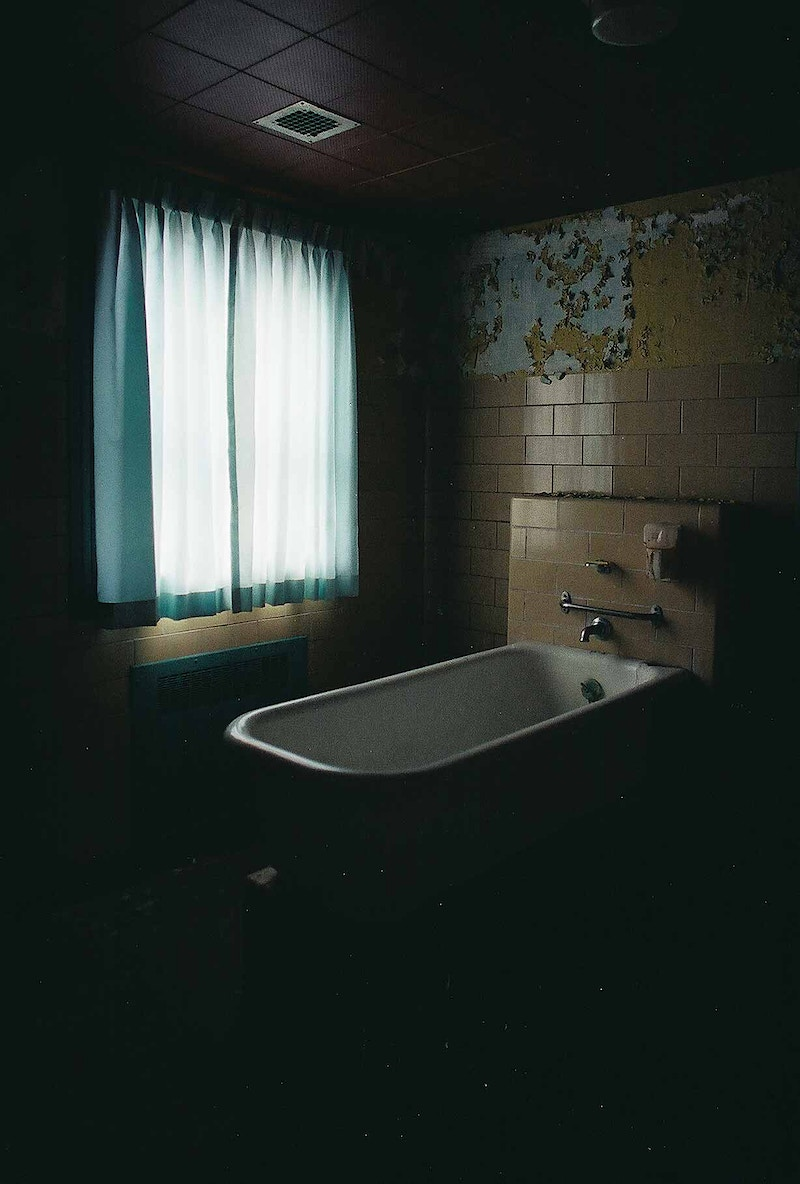 Abandoned State Hospital Bath Tub - Andrew Hutchins