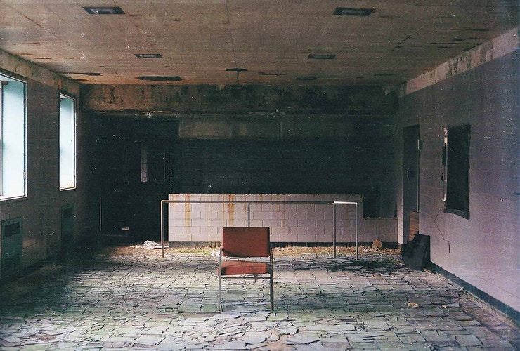 Abandoned Cafeteria - Andrew Hutchins
