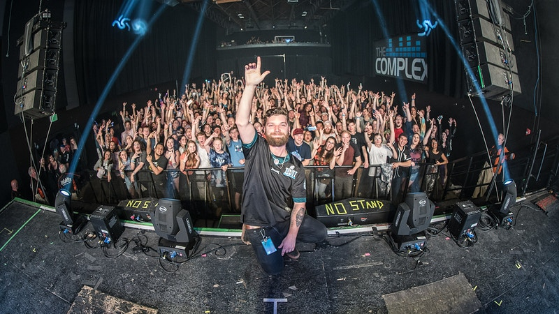 MitiS Til The End Tour 2018 salt lake city - Andrew Hutchins