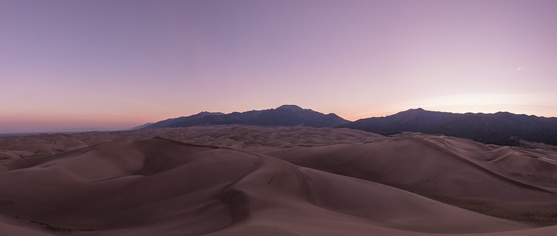 Great Sand Dunes National Park Pano - Andrew Hutchins