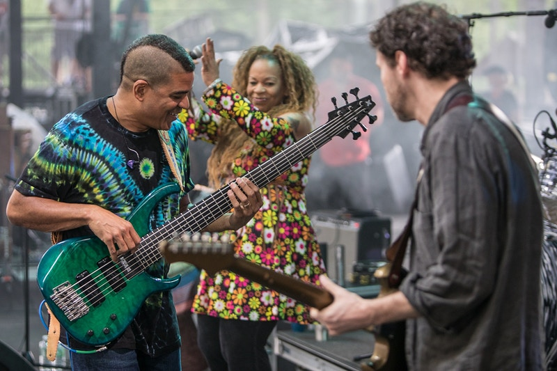 Oteil and friends Peach Music Festival 2018 - Andrew Hutchins