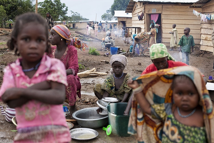CAR REFUGEES IN CAMEROON - Albert Masias photojournalist