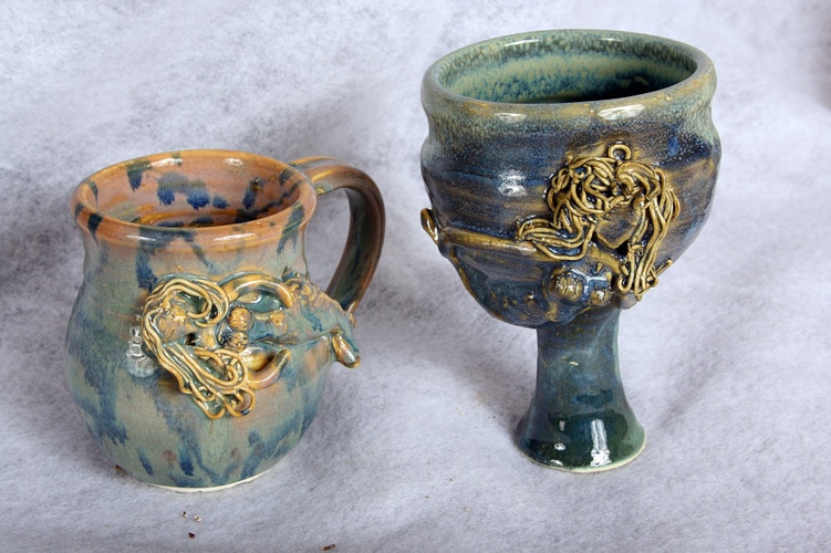 Mermaid  mMug and Footed Cup - Alexis Dillon | PHOTOGRAPHER