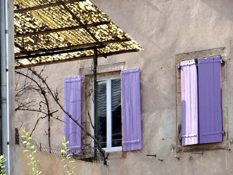 Lilac Shutters - Alexis Dillon | PHOTOGRAPHER