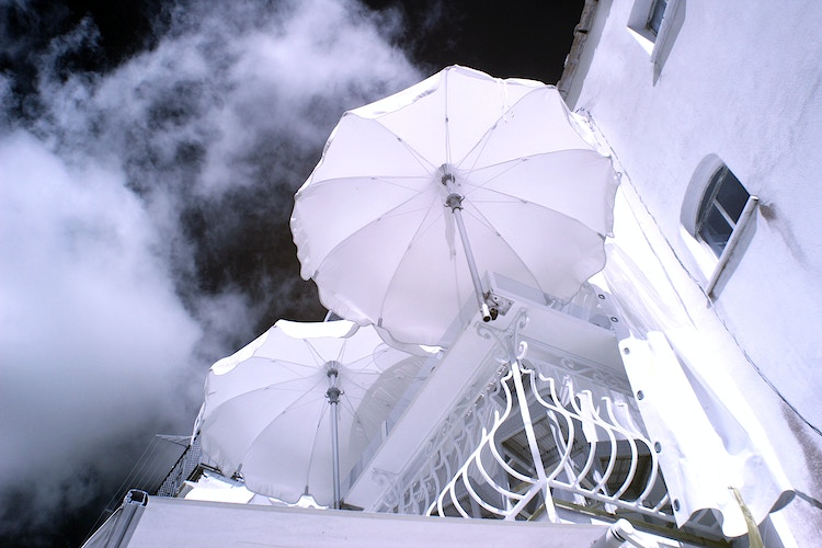 White Umbrellas - Alexis Dillon | PHOTOGRAPHER
