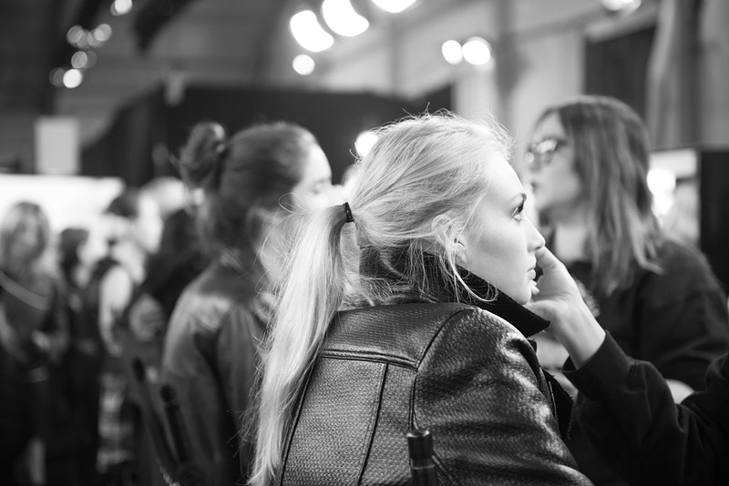 Fashion Shows Backstage - Aleyah Solomon Photography