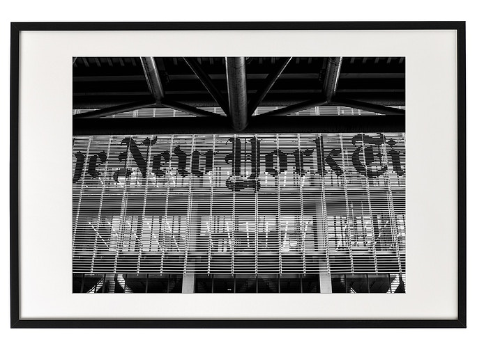 New York Times Sign - Aleyah Solomon Photography