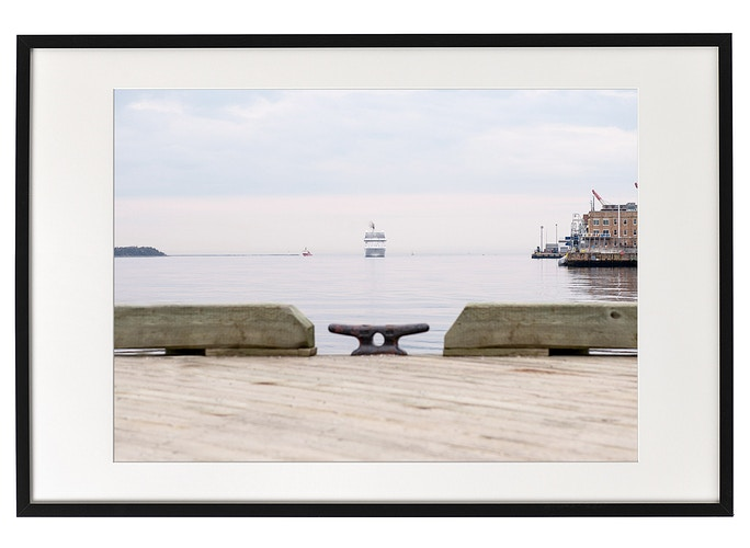 Approaching Ship, Halifax Harbour - Aleyah Solomon Photography