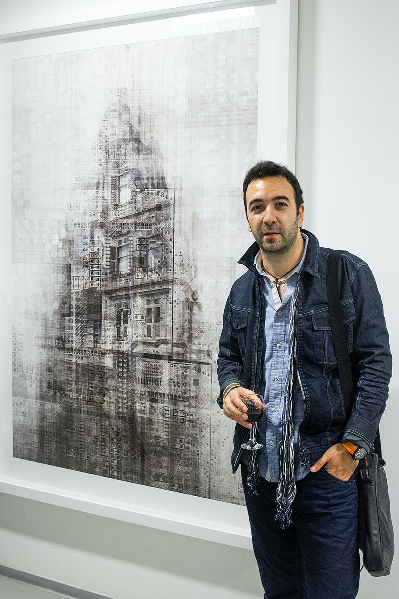 Impossible Structures Kare Art Gallery 2014 - Ali Alışır