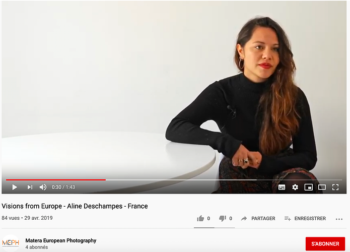 Interviews - Aline Deschamps