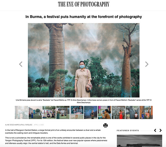 Articles And Photography Publications - Aline Deschamps