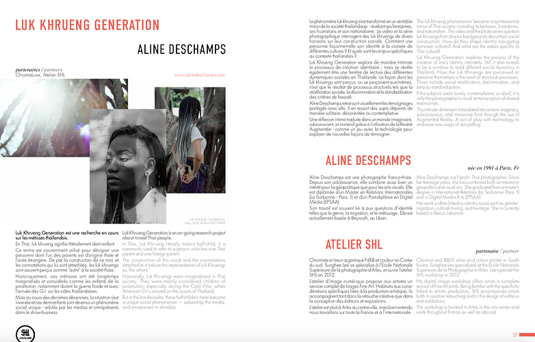 Luk Khrueng Generation 2020 - Aline Deschamps