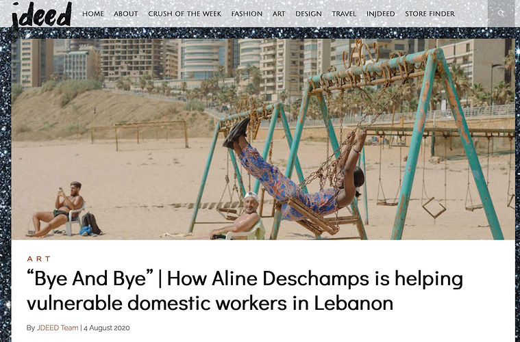 JDEED magazine - Aline Deschamps