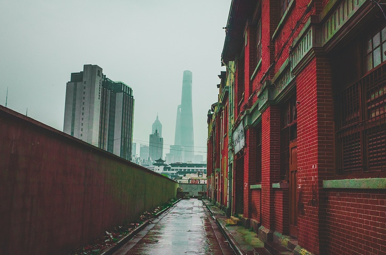 The New Cities Shanghai - Aline Deschamps