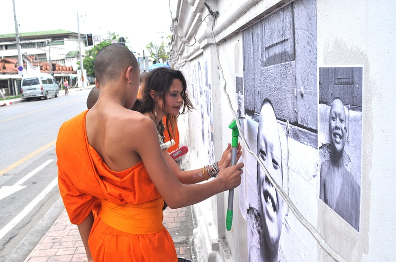 Inside Out Chiang Mai Street Exhibition 2011 - Aline Deschamps