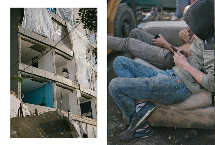 Out Of Blood And Concrete - Aline Deschamps