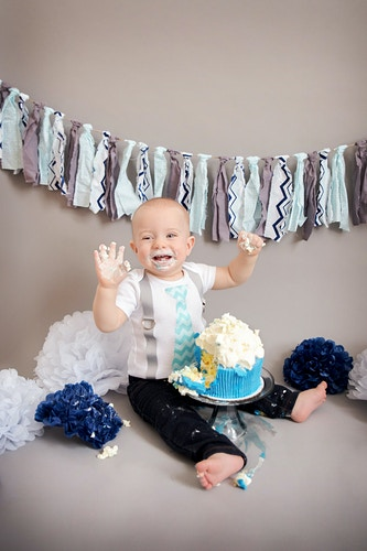 Cake Smash - Amanda Pfeiffer Photography