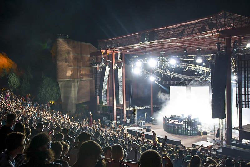 Global Dance Festival At Red Rocks - AMP Imagery