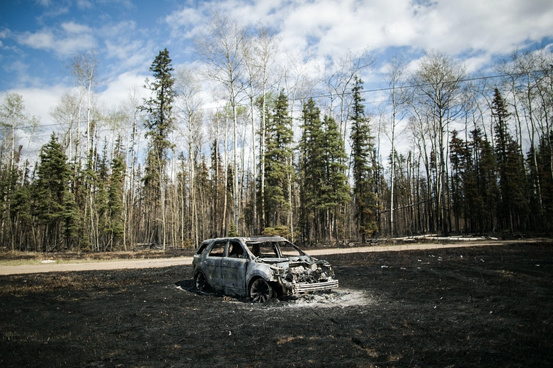 Fort Mcmurray Wildfire - AMRU SALAHUDDIEN (reconstructing site)