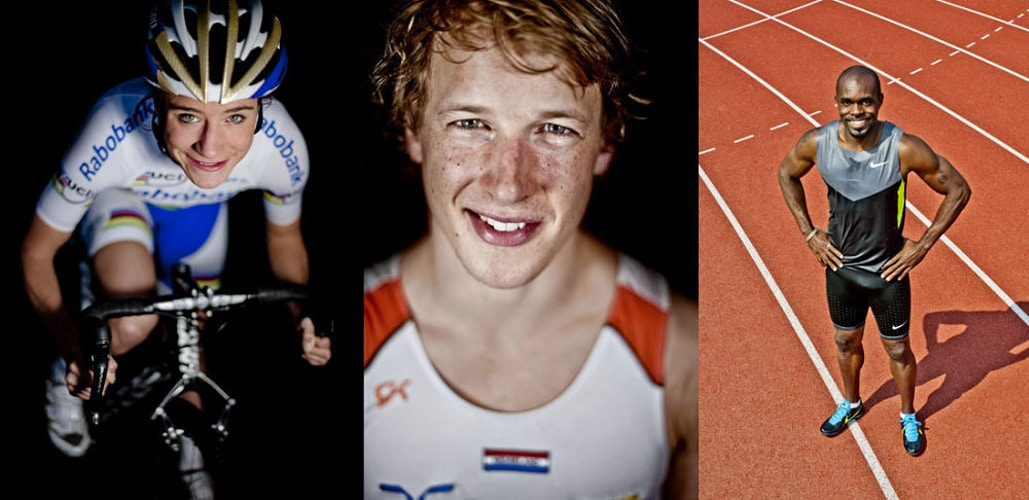 Marianne, Epke, Churandy (voor de Dopingautoriteit) - Andreas Terlaak Photography