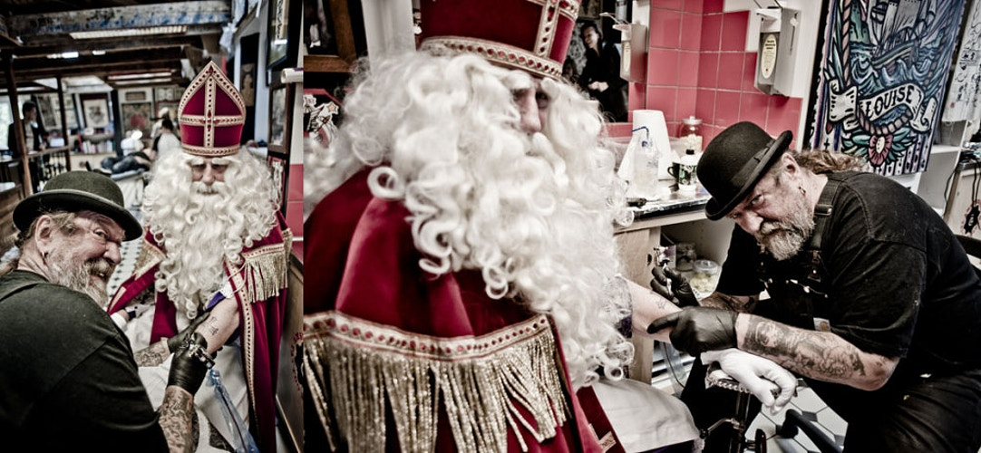Sinterklaas en Henk Schiffmacher - Andreas Terlaak Photography