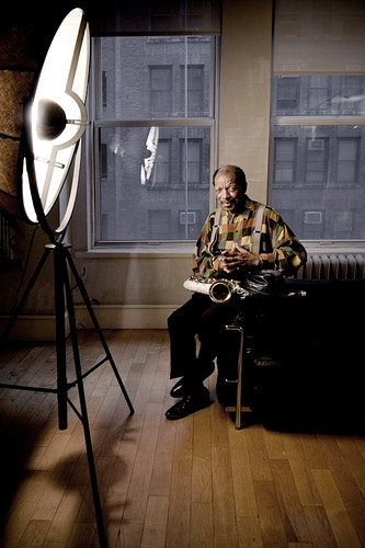 Ornette Coleman - Andreas Terlaak Photography