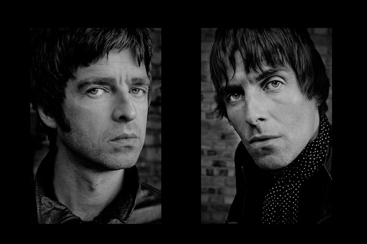 Noel and Liam Gallagher - Andreas Terlaak Photography