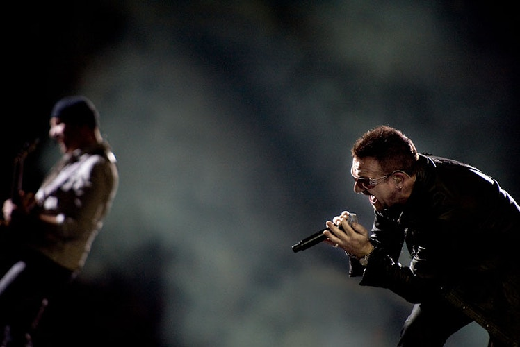 the Edge and Bono (U2) - Andreas Terlaak Photography