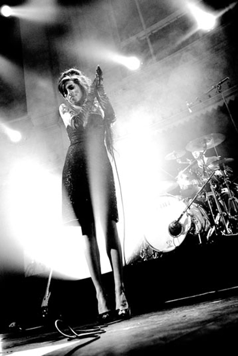 Amy Winehouse, Paradiso 2007 (1st Prize, Arts and Culture Category, Zilveren Camera 2007) - Andreas Terlaak Photography