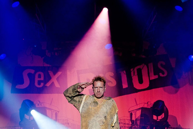 John Lydon (Johnny Rotten, Sex Pistols) - Andreas Terlaak Photography
