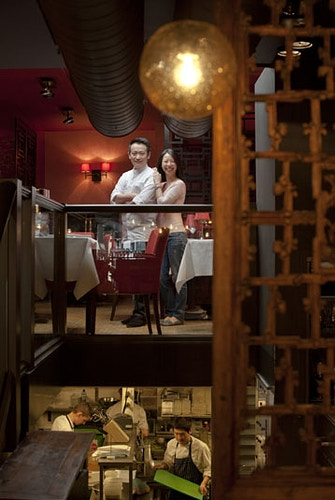 Han and Ting (Restaurant owners Hanting) - Andreas Terlaak Photography
