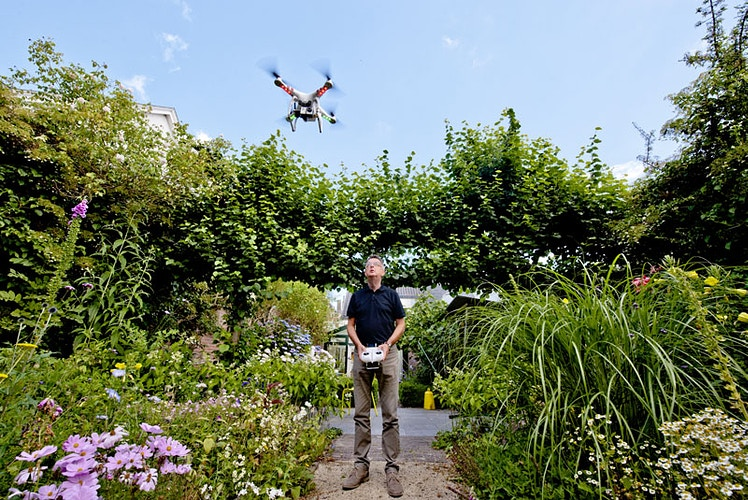 A man and his drone - Andreas Terlaak Photography