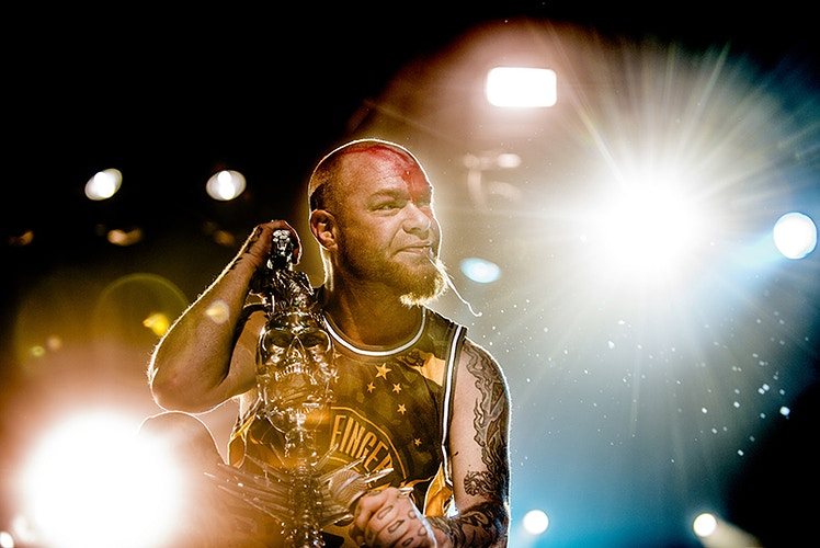 Five Finger Death Punch (Heineken Music Hall) - Andreas Terlaak Photography