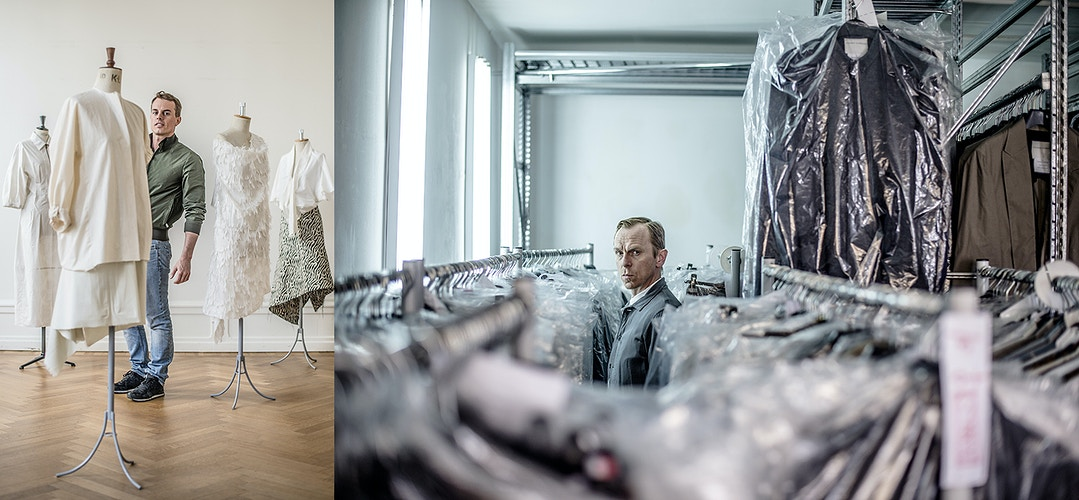 Christian Wijnants and Stephan Scnheider (Fashion Designers) - Andreas Terlaak Photography