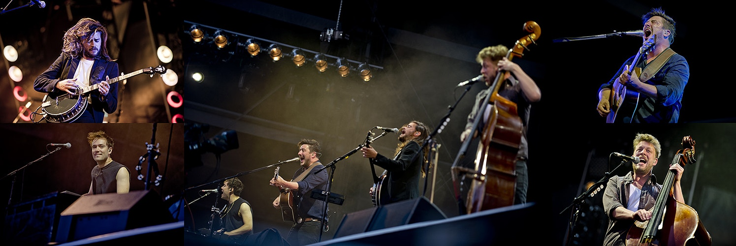 Mumford and Sons (Goffert Park) - Andreas Terlaak Photography