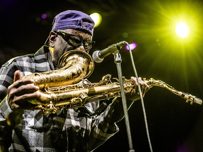 Pharoah Sanders (North Sea Jazz) - Andreas Terlaak Photography